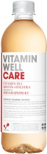 Vitamin Well Care Röd Grapefrukt 500 ml