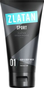 Zlatan Sport Hair & Body Wash 150 ml