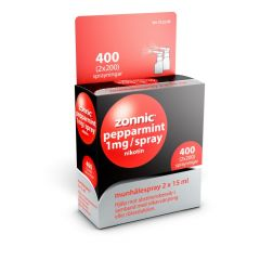 Zonnic Pepparmint munhålespray 1 mg/spray, 2x200 doser