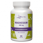 Alpha Plus Magnesium 100 mg 60 tabletter