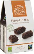 Belvas Flaked truffles 73% 100 g Fairtrade EKO