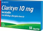 Clarityn Tabletter 10 mg 14 st