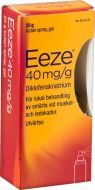 Eeze Kutan spray gel 40 mg/g 25 g