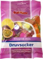 Fruitpower Druvsocker tropisk mix 75 g