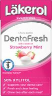 Läkerol DentaFresh strawberry & mint 36 g