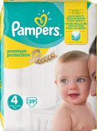 Pampers Premium protection S4 (9-14kg) 39 st