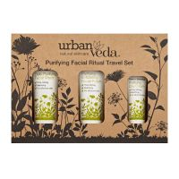 Urban Veda Purifying Facial Ritual Travel Set 50 ml