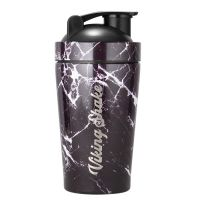 Viking Shake Black Marble Shaker 500 ml