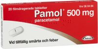Pamol tabletter 500mg, 20st